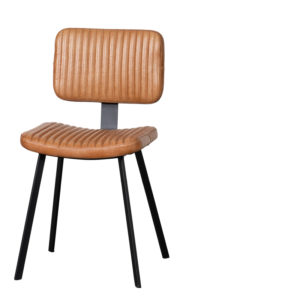 Chaise indiana cuir brun - Meilleures ventes