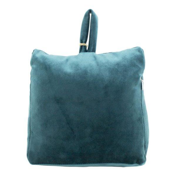 dcfgdspt 3 - Cale-porte Velours Bleu canard