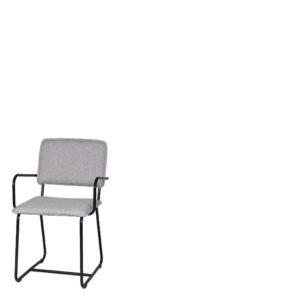 Chaise tissu gris Porter 1 - Meilleures ventes