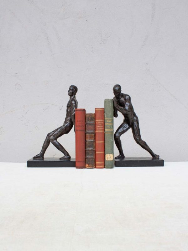 Serre livres Athletes 1 - Serre-livres Athlètes