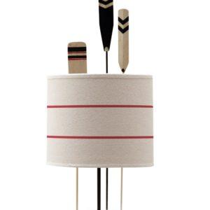 Lampe a poser 3 pagaies lignees - Nouveaux produits