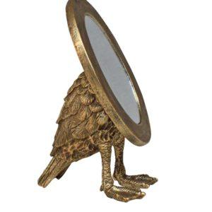 Miroir ovale pieds palmes - Nouveaux produits