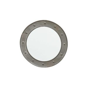 Petit miroir rond et rivets - Nouveaux produits