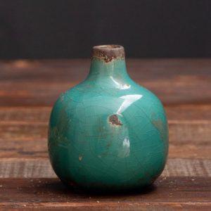vase ceramique vert deau 2 - Nouveaux produits