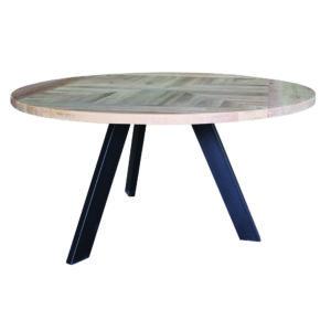 table ronde en chene gris Oakly - Nouveaux produits