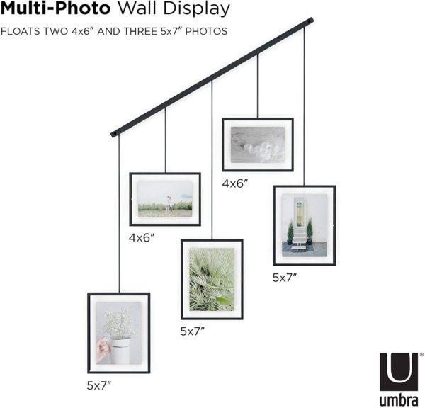 Exhibit Umbra 5 photos 3 - Cadre Exhibit noir Umbra Set de 5
