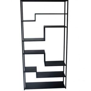 graphik etagere en metal noir mat - Nouveaux produits