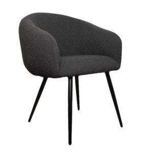 Chaise boucle noir bubble - Nouveaux produits